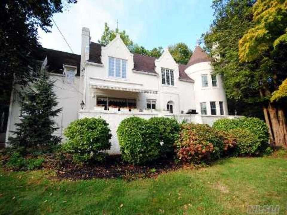 A historic Huntington Bay mansion belonging to the