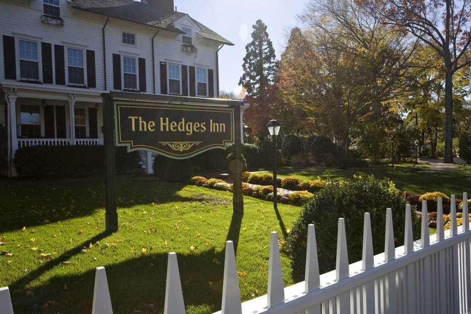 The Hedges Inn in East Hampton, built in
