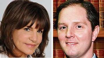 Mercedes Ruehl and Thomas D. Glascock