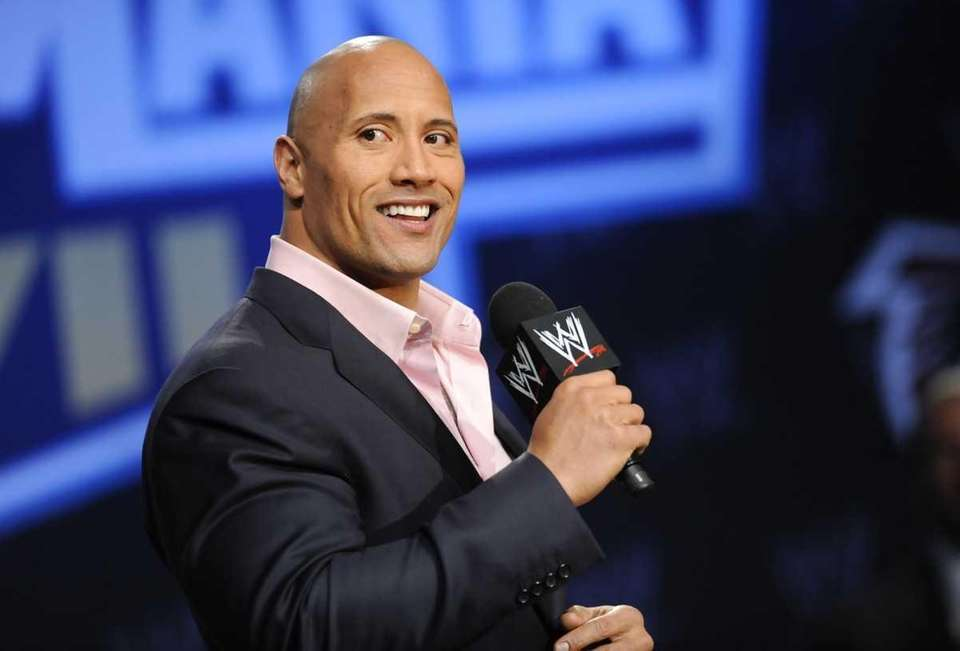 Actor and WWE supestar Dwayne