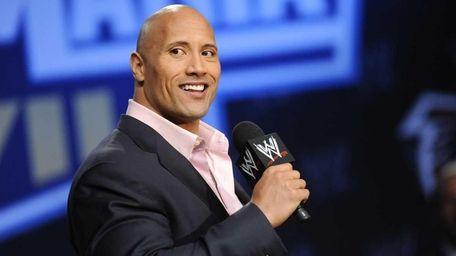 Actor and WWE supestar Dwayne