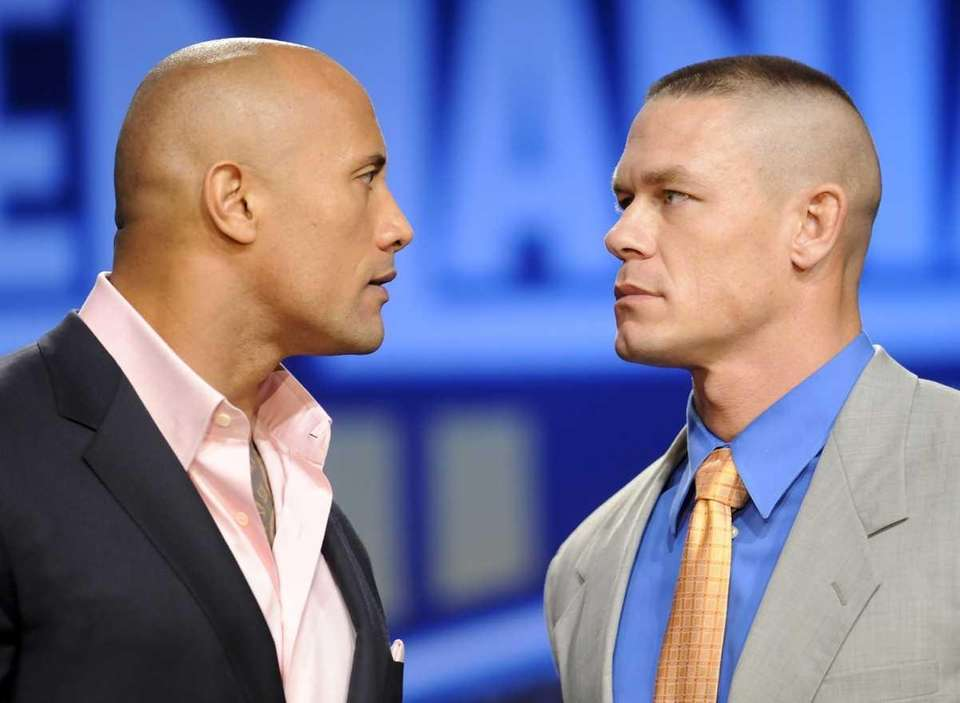 Actor and fromer WWE supestar Dwayne