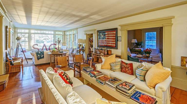 Inside Christie Brinkley's home in North Haven.