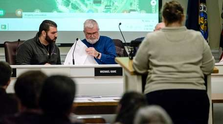 Babylon Town zoning board members hear about plans