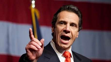 Undated file photo of New York governor Andrew