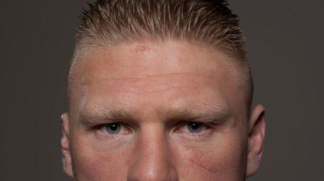 Former UFC heavyweight champion Brock Lesnar is a