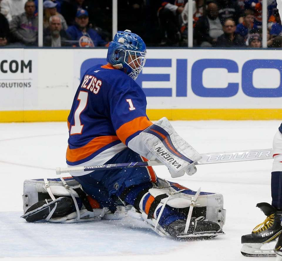 Thomas Greiss #1 of the New York Islanders