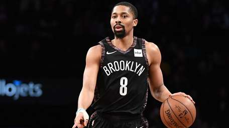 Nets guard Spencer Dinwiddie played for the first