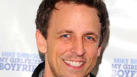 Actor Seth Meyers attends the off-Broadway opening night