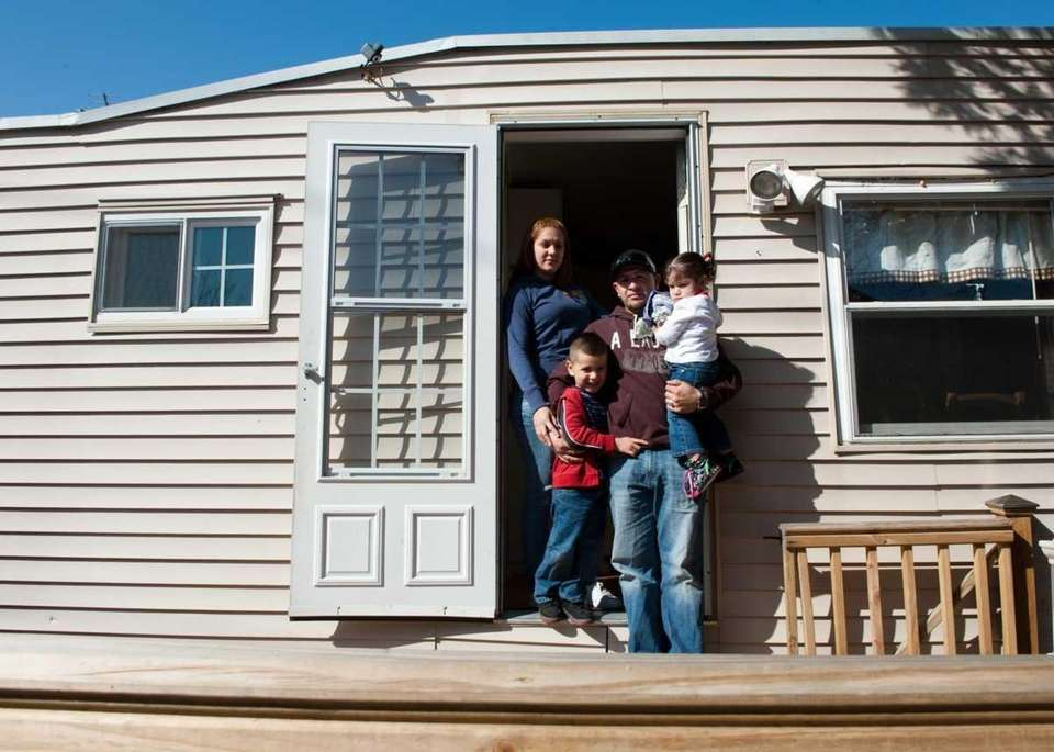 Life inside the trailer park | Newsday on living in a ray of light, living in a parking lot, living in a cottage, living in a lake, living in a digital world, living in a apartment, living in a church, living in a campsite, living in a house, living in a jail cell, living in a theater, living in a big city, living in a tent, living in a bank, living in a hospital, living in a rv, living in a dormitory, living in a rural area, living in a school, living in a resort,