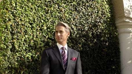 Canali trunk show, men�s spring collection, is hosted