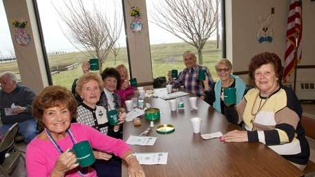 Patrons at the Tanner Park Senior Center in
