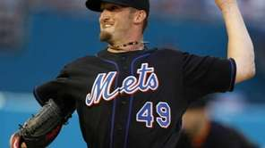 New York Mets starting pitcher Jonathon Niese (49)