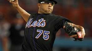 New York Mets relief pitcher Francisco Rodriguez (75)