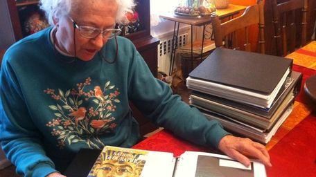 Joyce Williams, 77, of Huntington Station documents history