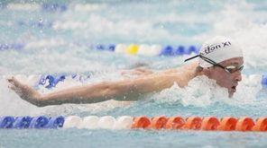 Shoreham Wading River's Jason Louser wins the 200