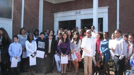 East Ends students were honored by the NAACP