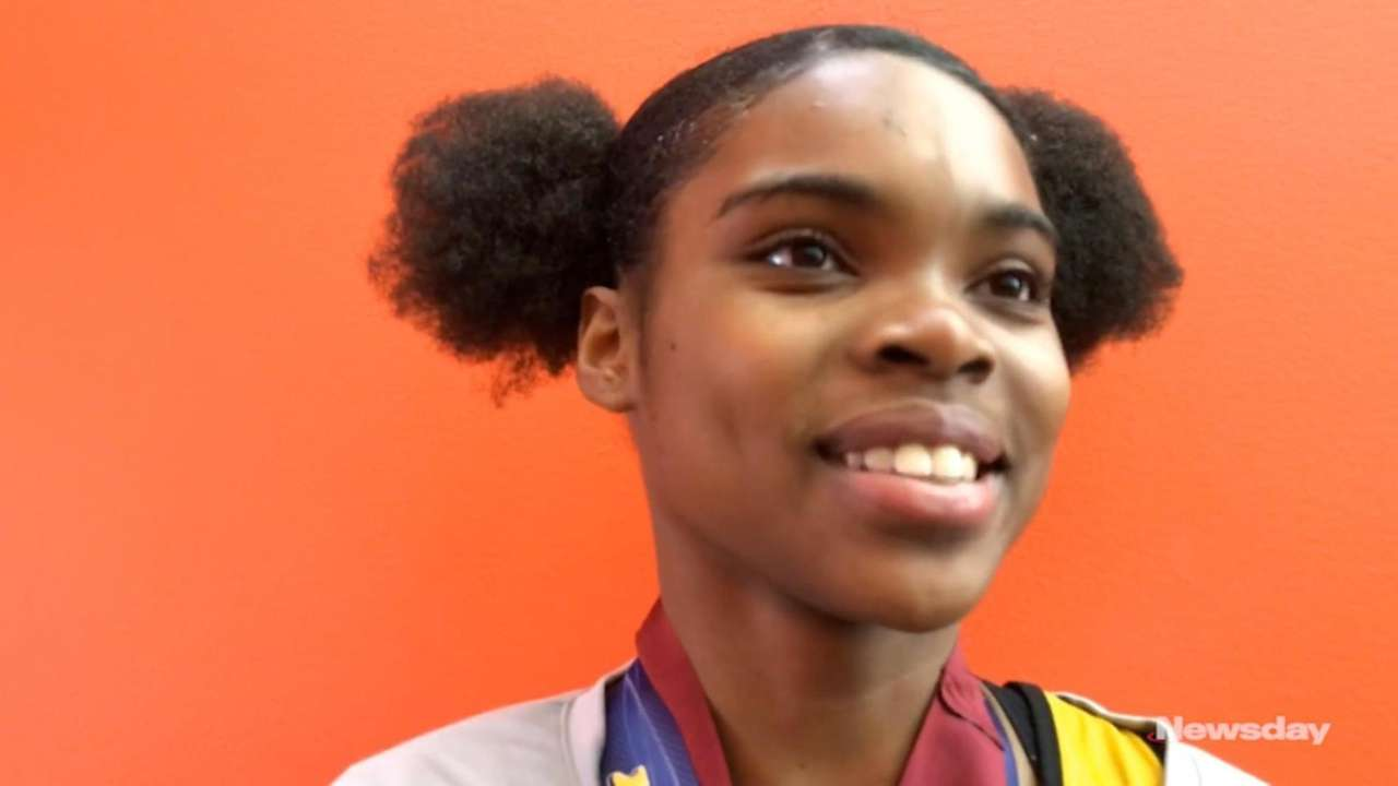 Commack's Alissa Braxton talks about her victory in
