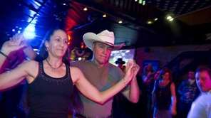 Richie Koester danced with Sandy Raynor at The
