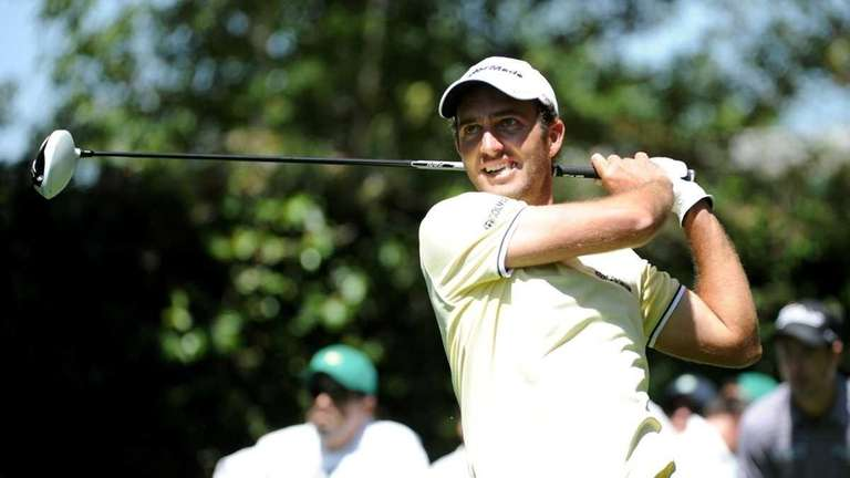 Edoardo Molinari of Italy hits a shot during