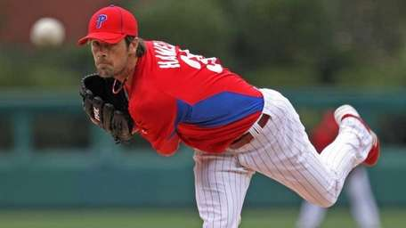 The Mets will face Phillies starter Cole Hamels