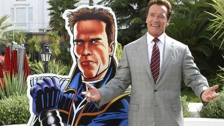 Austrian-American, actor and former California Gov. Arnold Schwarzenegger,