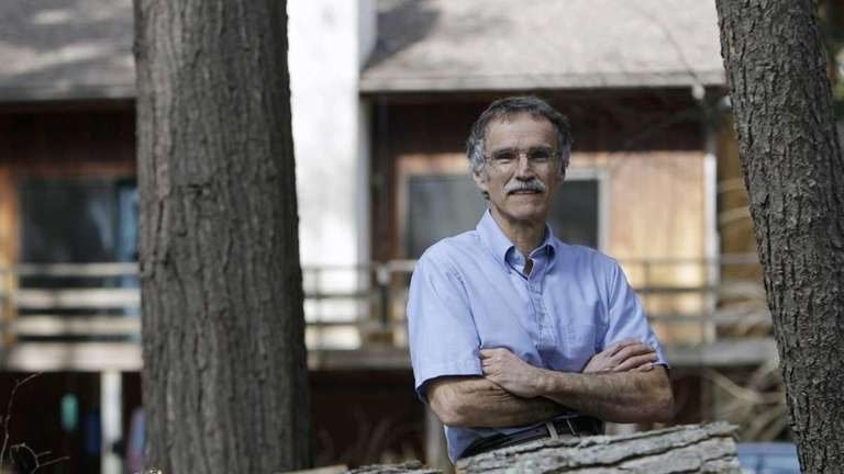 Robert Rivers at his home in upstate Ravena.