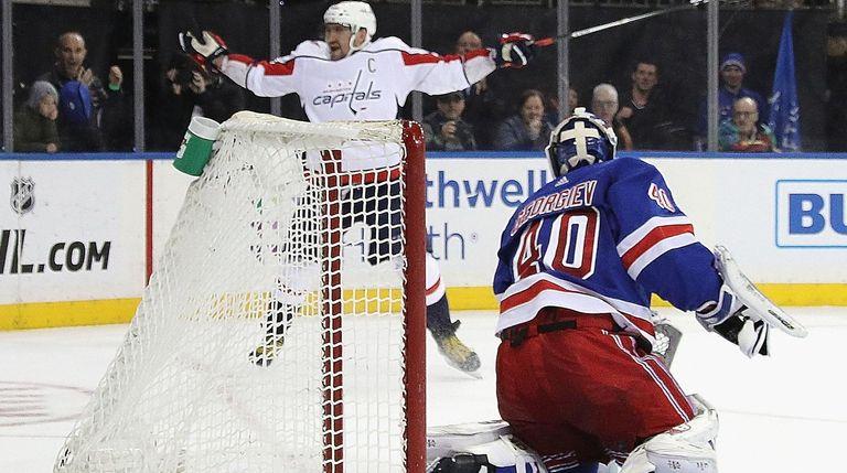 Alex Ovechkin s odd shootout goal beats Alexandar Georgiev 122eca9152
