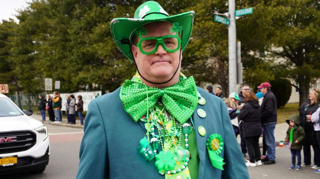 Bethpage held its annual St. Patrick's Day parade
