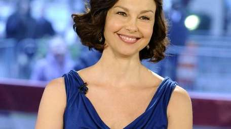 Actress Ashley Judd appears on the