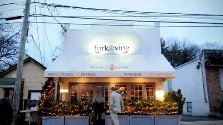 fork&vine is on Railroad Avenue across from the