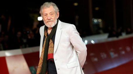 Actor Ian McKellen attends the Rome Film Festival