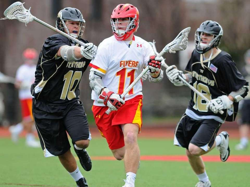 Chaminade High School midfielder #11 Paul Urbank,