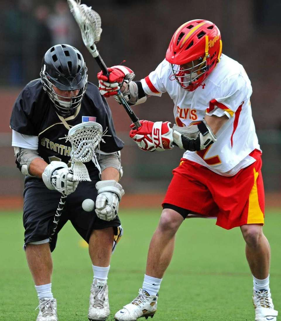St. Anthony's High School attack #11 Christian Bennardo,