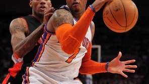New York Knicks small forward Carmelo Anthony (7)