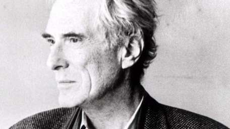 Mark Strand, seen in an undated photo, was