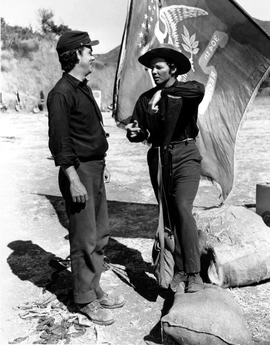 Director John Huston's film, starring real-life World War