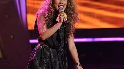 Haley Reinhart rocked the L.A.M.B look with a