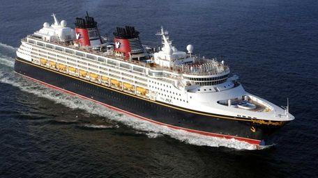 Disney Magic cruise ship.