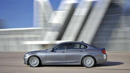 The new BMW 5 Series sedan (Undated)