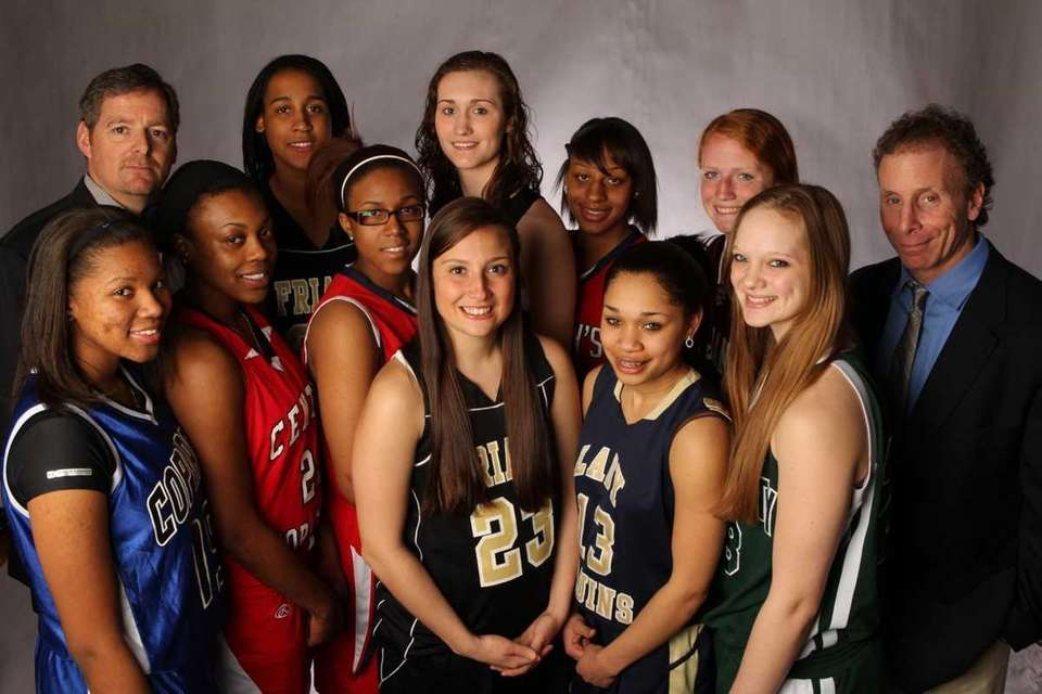 Above: The 2011 Newsday All-Long Island girls basketball