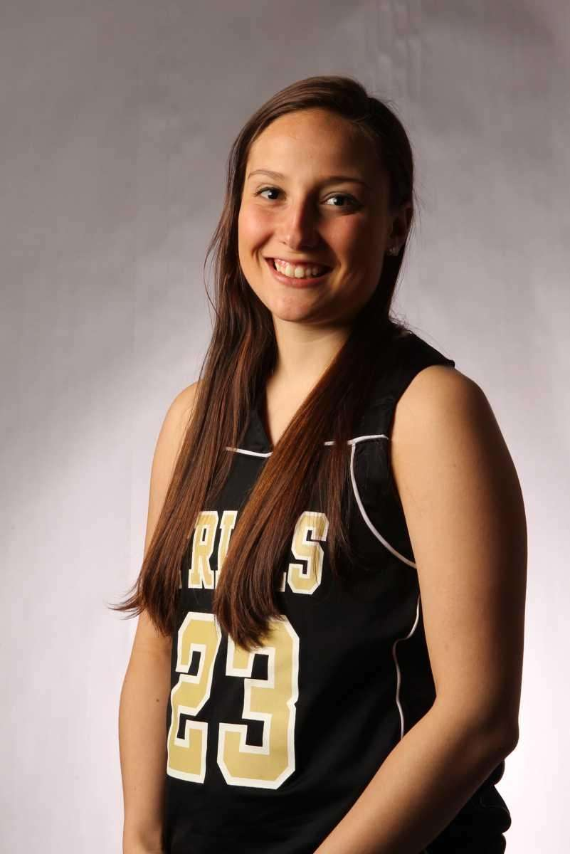 KERRIN MAURER St. Anthony's, Guard, Sr. The leading
