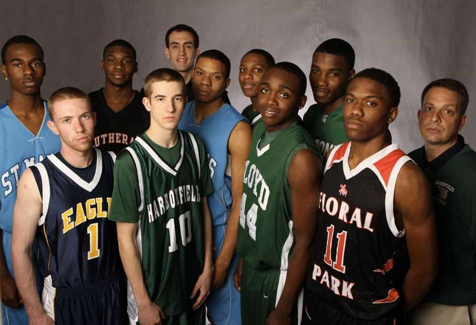 Above: The 2011 All-Long Island boys basketball team.
