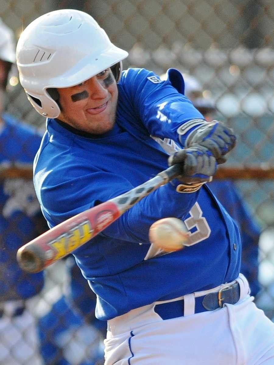 Division Avenue High School shortstop #23 Dan Skillman