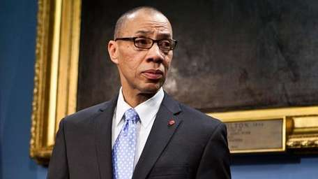 Dennis Walcott, the New York City schools chancellor,
