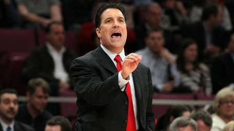 St. John's head coach Steve Lavin.