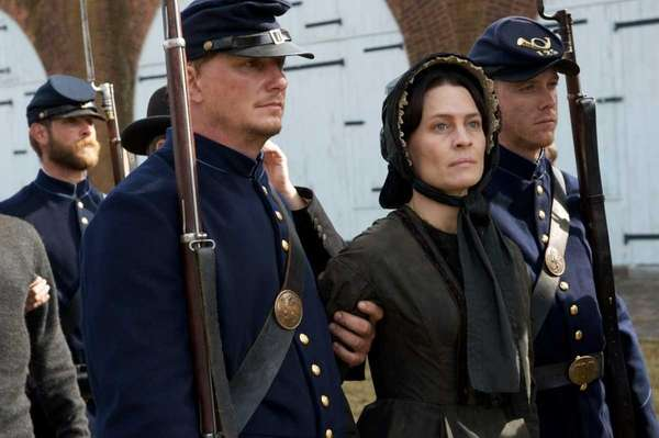 "Robin Wright in a scene from "" The"