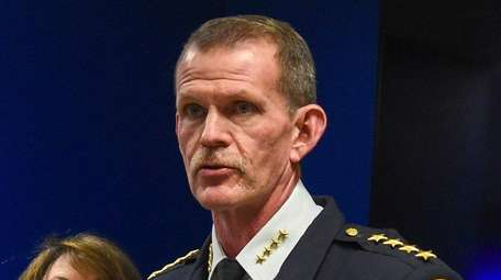 Suffolk police Chief of Department Stuart Cameron on
