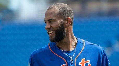 Mets infielder Amed Rosario, Friday Feb. 22, 2019