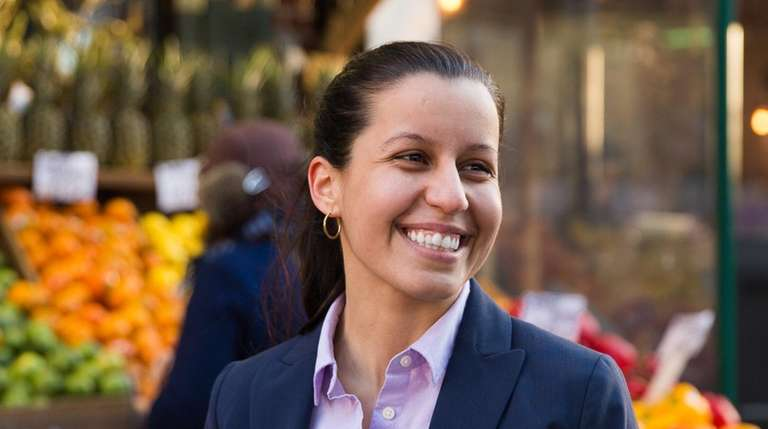 Tiffany Cabán, a public defender, is campaigning to